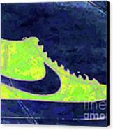 Nike Blazer 3 Canvas Print by Alfie Borg