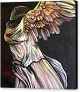 Nike Canvas Print by Christine Maeda