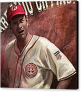 No Crying In Baseball Canvas Print by Steve Goad