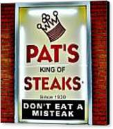 No Misteaks Canvas Print by Benjamin Yeager
