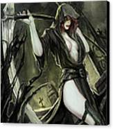 No Tomorrow 01b Canvas Print by Zenescope Entertainment