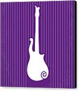 No124 My Purple Rain Minimal Movie Poster Canvas Print by Chungkong Art