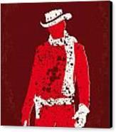 No184 My Django Unchained Minimal Movie Poster Canvas Print by Chungkong Art