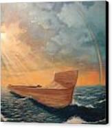 Noah's Ark Canvas Print by Clay Hibbard