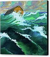 Noah's Ark Canvas Print by Karon Melillo DeVega