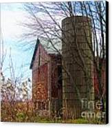Non Working Barn Property Canvas Print by Tina M Wenger