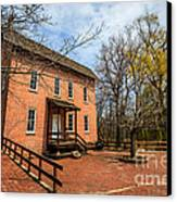 Northwest Indiana Grist Mill Canvas Print by Paul Velgos