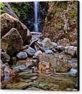 Norvan Falls Canvas Print by James Wheeler