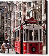 Nostalgic Tram 01 Canvas Print by Rick Piper Photography