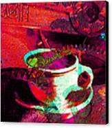 Nothing Like A Hot Cuppa Joe In The Morning To Get The Old Wheels Turning 20130718m43 Canvas Print by Wingsdomain Art and Photography