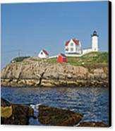 Nubble In The Day 16x20 Canvas Print by Geoffrey Bolte