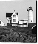 Nubble Lighthouse Canvas Print by Will Gunadi