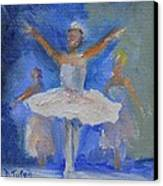 Nutcracker Ballet Canvas Print by Donna Tuten