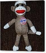 Obama Sock Monkey Canvas Print by Rob Hans
