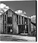 Ocean View Barn Canvas Print by Amy Fearn