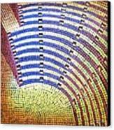 Ochre Auditorium Canvas Print by Mark Howard Jones