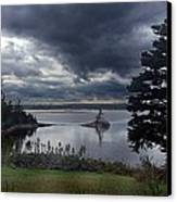 October Sky Canvas Print by George Cousins