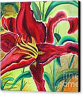 Oddly Twisted Canvas Print by Shannan Peters