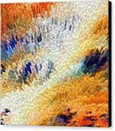 Odyssey - Abstract Art By Sharon Cummings Canvas Print by Sharon Cummings
