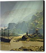 Of A Time Canvas Print by Dieter Carlton