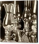Oil Lamps Canvas Print by Patrick M Lynch