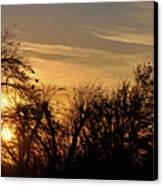 Oklahoma Sunset Canvas Print by Jeff Kolker