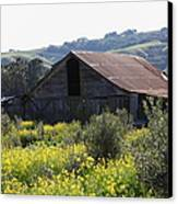 Old Barn In Sonoma California 5d22232 Canvas Print by Wingsdomain Art and Photography