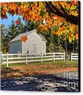 Old Bethel Church 1842 Canvas Print by Dan Friend