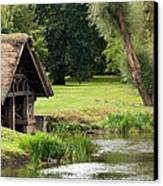 Old Boathouse Canvas Print by Rick Piper Photography