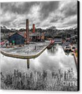 Old Dock Canvas Print by Adrian Evans