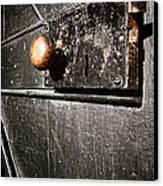 Old Door Lock Canvas Print by Olivier Le Queinec