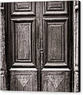 Old Door Canvas Print by Olivier Le Queinec