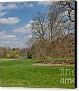 Old Elm Haverford College Canvas Print by Kay Pickens