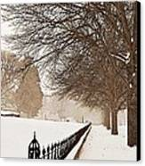 Old Fashioned Winter Canvas Print by Chris Berry