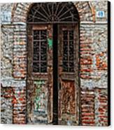 Old Italian Doorway Canvas Print by Mountain Dreams