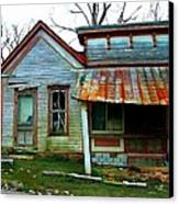 Old Leavenworth Indiana Canvas Print by Julie Dant