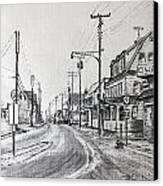 Old Manahawkin Canvas Print by Martin Way
