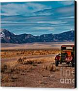 Old Pickup Canvas Print by Robert Bales