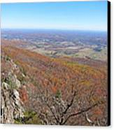 Old Rag Hiking Trail - 121234 Canvas Print by DC Photographer