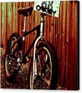 Old School Bmx - Jag Canvas Print by Jamian Stayt