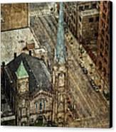 Old Stone Church Canvas Print by Dale Kincaid