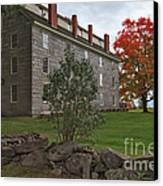 Old Stone House Canvas Print by Charles Kozierok