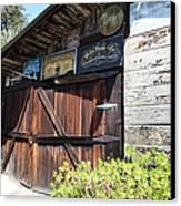Old Storage Shed At The Swiss Hotel Sonoma California 5d24459 Canvas Print by Wingsdomain Art and Photography
