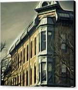Old Town Fort Collins Canvas Print by Julieanna D