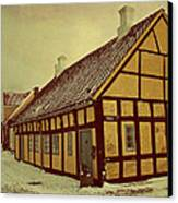 Old Town Canvas Print by Odd Jeppesen