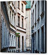 Old Town Street Canvas Print by Gynt
