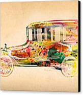 Old Volkswagen3 Canvas Print by Mark Ashkenazi