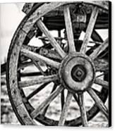 Old Wagon Wheels Canvas Print by Jane Rix