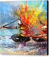 Olympics Canoe Slalom 05 Canvas Print by Miki De Goodaboom