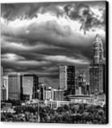 Ominous Charlotte Sky Canvas Print by Chris Austin